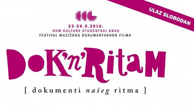 """Фестивал музичког документарног филма """"Dok'n'Ritam"""""""