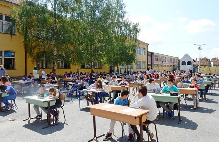 Јавни стрип час у Лесковцу