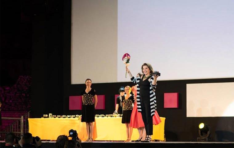 63. Филмски фестивал у Пули: Мирјана Карановић (Фото: Pula Film Festival - Фејсбук страница)