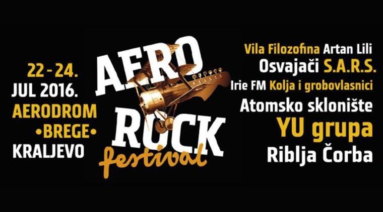 Аеро рок фестивал - Краљево 2016.