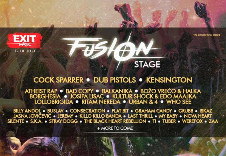 EXIT 2016 - Fusion Stage