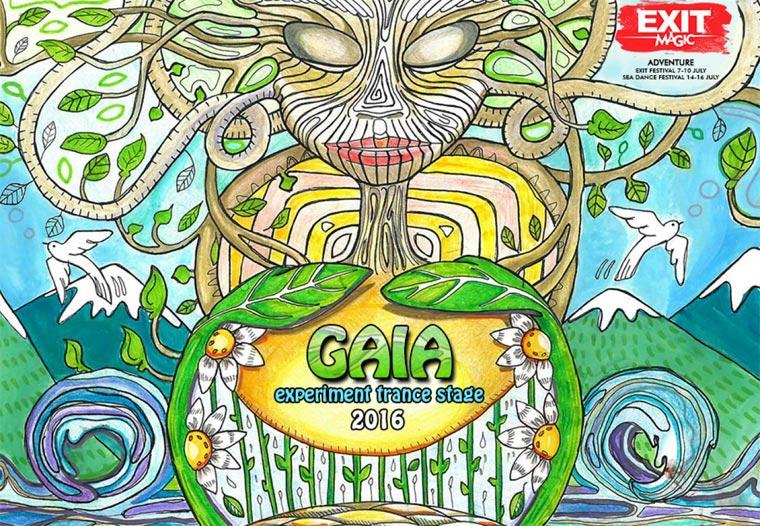 EXIT 2016 - Gaia Experiment Trance
