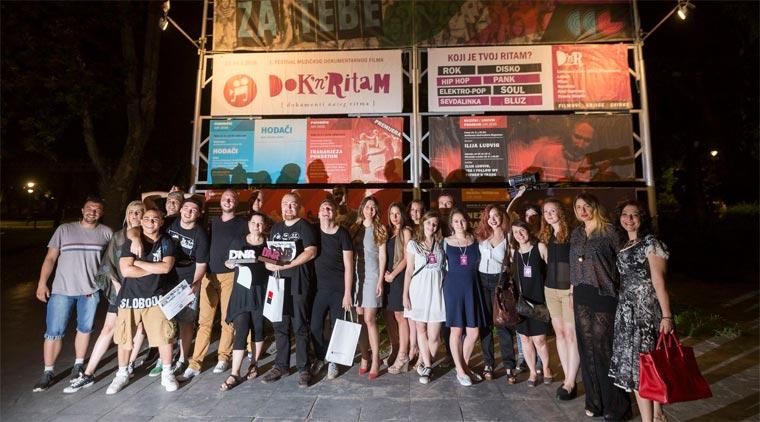 """Фестивал музичког документарног филма """"Dok'n'Ritam"""" - победници"""