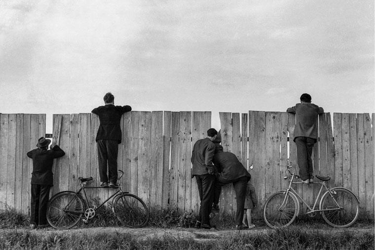 """Фотографија """"Радозналост"""" (1954), аутора Томислава Петернека"""