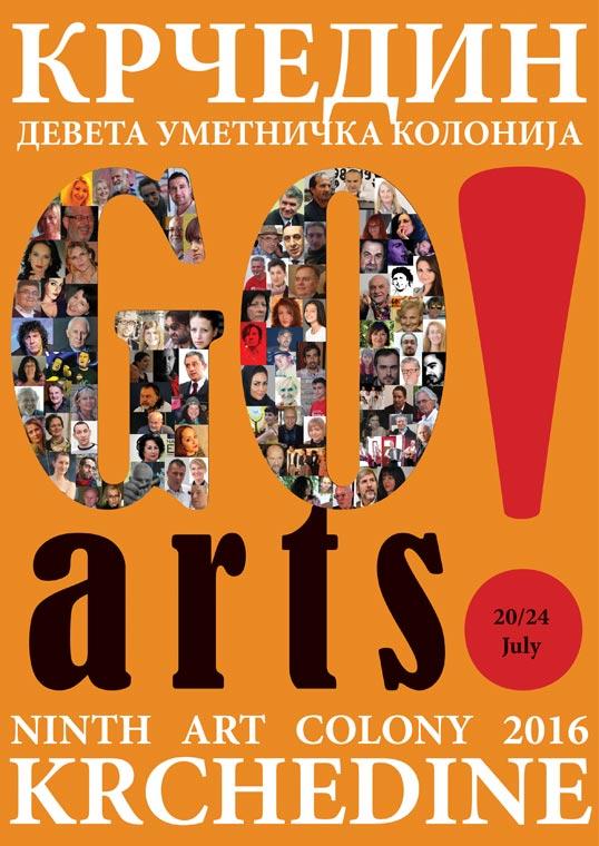 "Девета међународна уметничка колонија ""Крчедин 2016"""