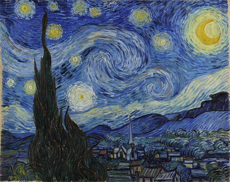 Звездана ноћ (1889) - Винсент ван Гог
