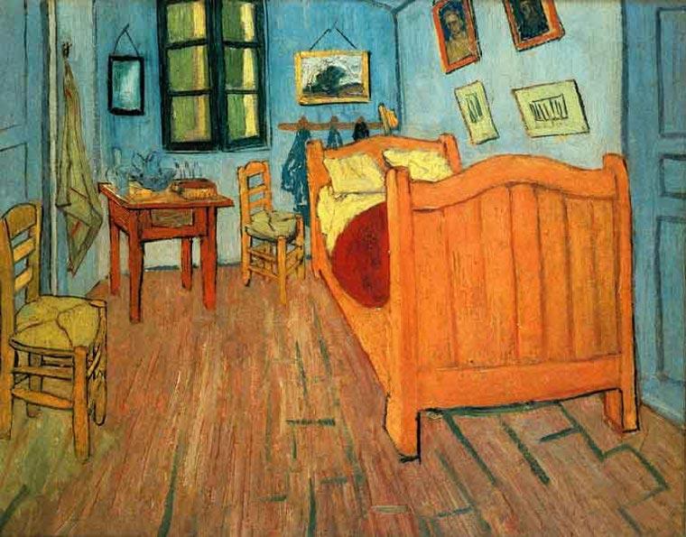 Спаваћа соба у Арлесу (1888) - Винсент ван Гог