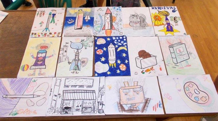 Летња школа карикатуре Николе Драгаша